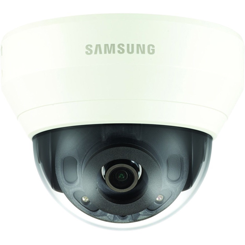 4MP INDOOR DOME NETWORK CAMERA TRIPLE CODEC H.265 H.264 MJPEG WISESTREAM 3.6MM LENS IR POE 12VDC 120DB TRUE WDR DEFOCUSDETECTION HALLWAY VIEW ONE WAY AUDIO AND SD CARD SLOT