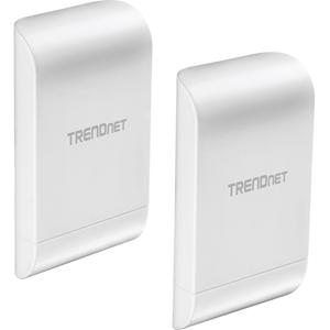 Wireless N300 point-to-point networking (2.4 GHz). 10 dBi Wireless N300 Outdoor PoE Preconfigured Point-to-Poinit Bridge Kit