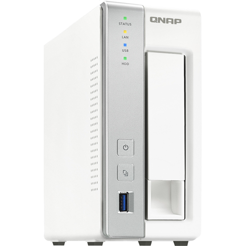QNAP 1BAY PERSONAL CLOUD-NAS CA15/1.7 2C