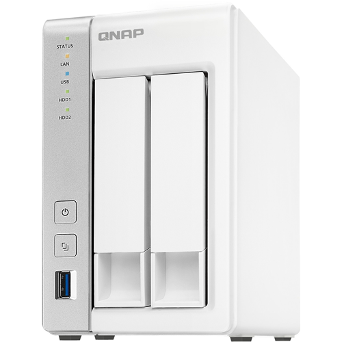 ADI | QNAP 2-bay Personal Cloud NAS with DLNA, mobile apps and