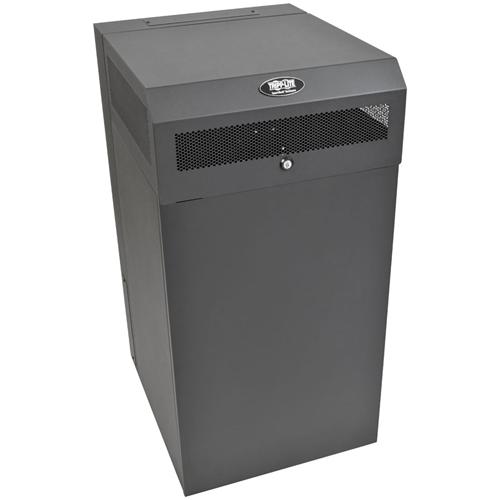 Tripp Lite 16U Wallmount Low Profile Vertical Rack Enclosure Server Cabinet