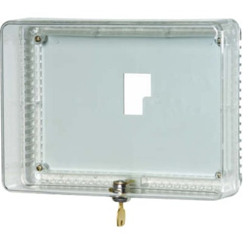 LARGE CLEAR UNIVERSAL THERMOSTAT GUARD