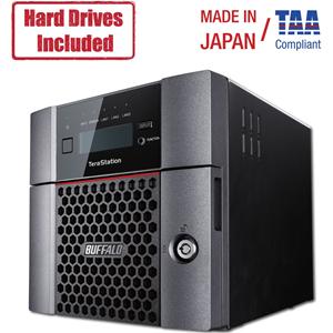 BUFFALO 2-BAY 2X2TB NAS HD SATA 1X10GBE 2XGBE RAID ISCSI
