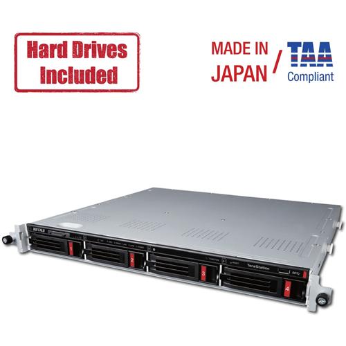 Buffalo TeraStation 3410RN Rackmount 8 TB NAS Hard Drives Included