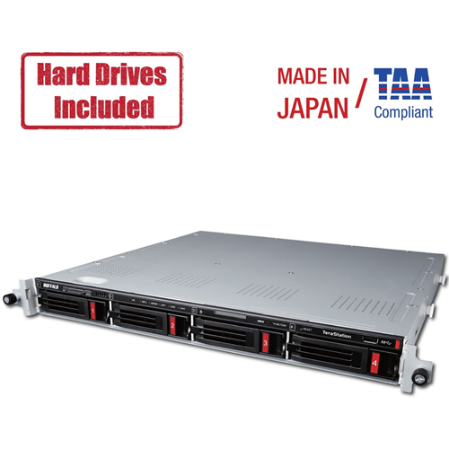 Buffalo TeraStation 5410RN Rackmount 16TB NAS Hard Drives Included