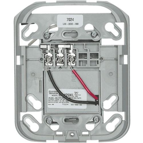 System Sensor MP120KL Mounting Plate for Horn, Chime, Strobe