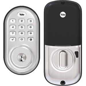 YALE REAL LIVING ASSURE LOCK PUSH BUTTON WITH Z-WA