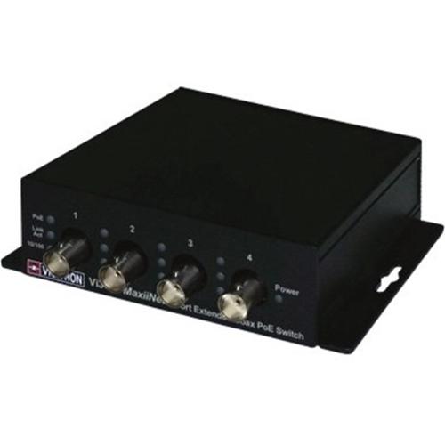 Vigitron MaxiiNet 5-port PoE Extended Coax PoE Switch