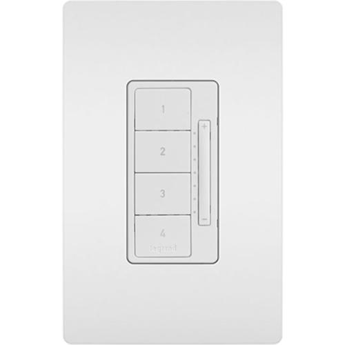 Legrand-On-Q In-Wall RF Scene Controller, White