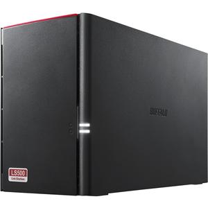 BUFFALO LinkStation 520 2TB NAS 2X1TB, SATA HD RAID 0,1, JBOD 1XGBE 1XUSB