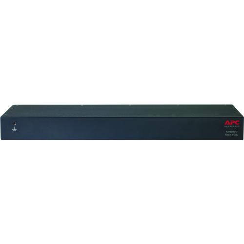 APC by Schneider Electric Rack PDU, Metered, 1U, 16A, 208/230V, (8) C13