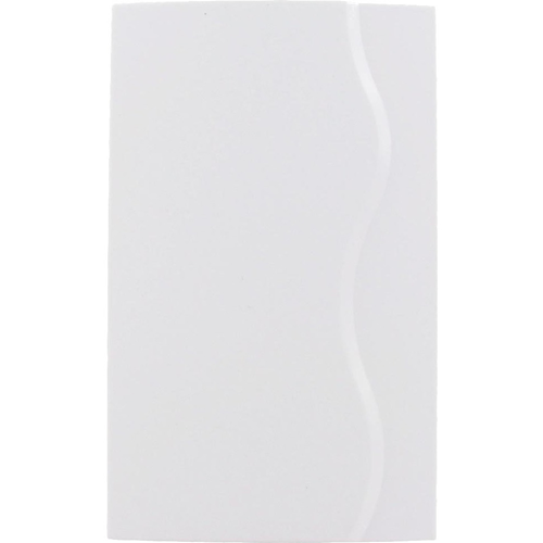 WIRED/BATTERY POWERED DOOR CHIME, WHITE FINISH