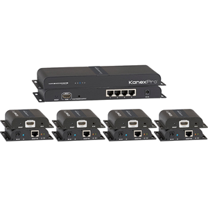 HDMI 1X4 DISTRIBUTION AMPLIFIER OVER CAT5E/6