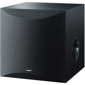 "This subwoofer incorporates a number of Yamaha's advanced and a high performance bass technologies such as Twisted Flare Port and Advanced YST II (Yamaha Active Servo Technology II) with discrete amp circuitry and high quality 25 cm (10"") woofer unit. Thi"