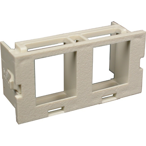 Wiremold CM 2A Dual Flushmount Unloaded Keystone Module
