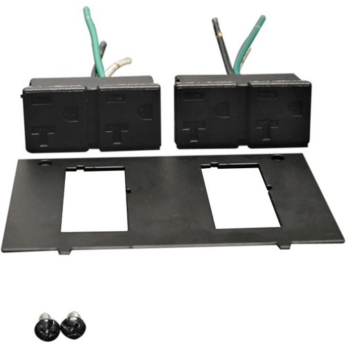 REPLACEMENT DUAL 20A RECEPTACLE & PLATE
