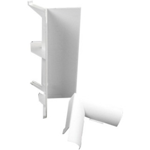 NM INT COVER ELBOW WHITE