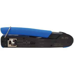 IDEAL FT-45 Feed-Thru Modular Plug Crimp Tool