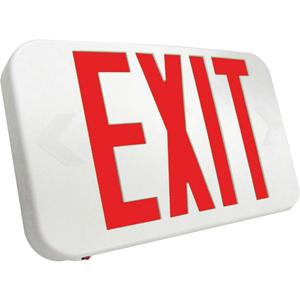 Lumenosity Battery-backed Exit Sign