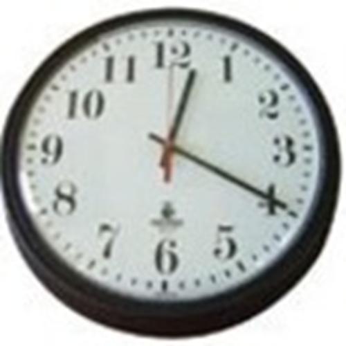 Sperry West SW1300AHD Surveillance Camera - Clock