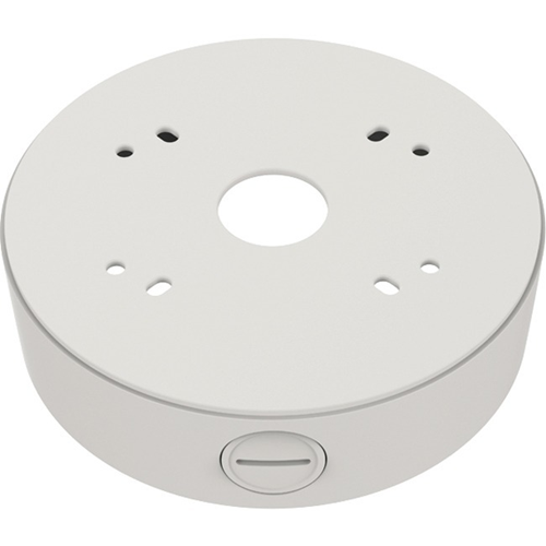 Hanwha Mounting Box for Network Camera - Ivory