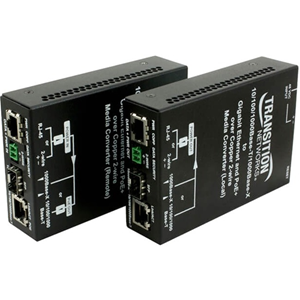 Transition Networks Ethernet Over 2-Wire Extender With PoE+