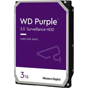 WD Purple 3TB Surveillance Hard Drive