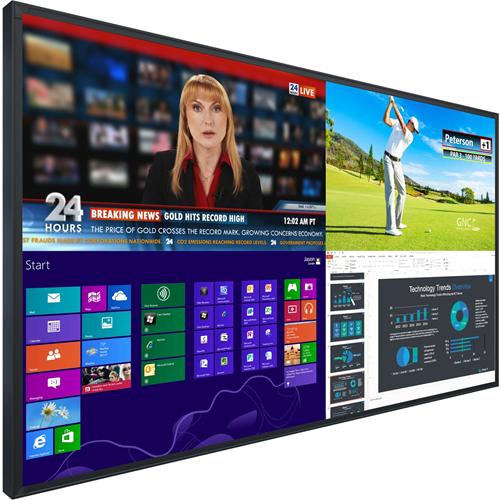 "75"" UR7551-MX-ERO Lrge Format UltraRes 4K LCD Disp- ERO w/Gorilla Glass"