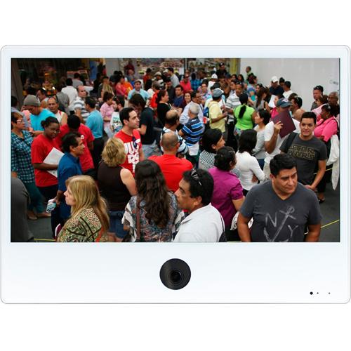ViewZ VZ-PVM-I2W3N Full HD LED LCD Monitor - 16:9 - White