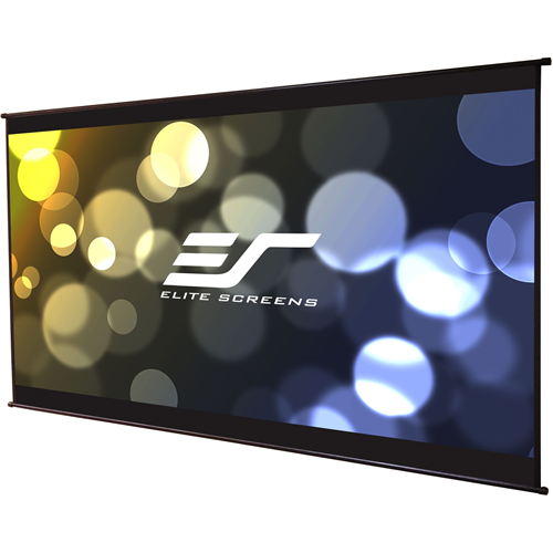 "Elite Screens DIY Wall 3 Series DIYW100H3 Projection Screen (100"" 16:9) MaxWhite B 1.0 grain matte white Material"