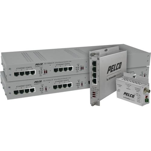 EC L/R 1PORT EXT CAT5 PASS THRU POE-15W MINI CASE