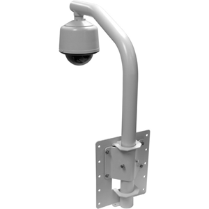 Pelco PP350 Wall Mount for Security Camera Dome - Powder Coated Gray