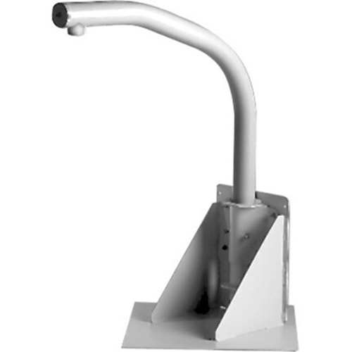 Pelco PP451 Roof Mount for Security Camera Dome - Powder Coated Gray