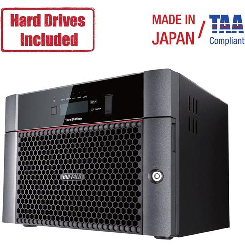 4X4Tb Nas Hard Drive Partially Populated Desktop Nas Iscsi 2X10Gbe Raid Iscsi