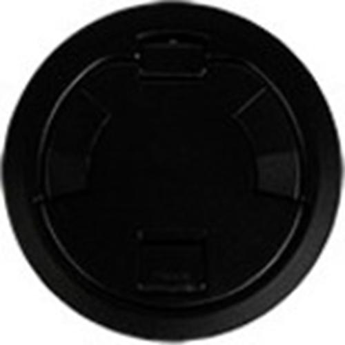 On-Q 6CT Evolution Poke Thru Surface Style Cover, Black