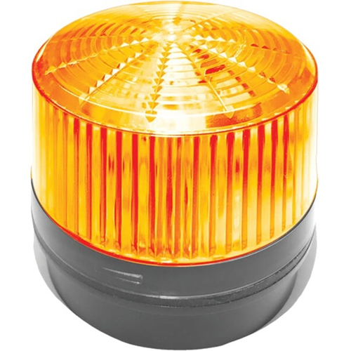 12 V DC - Visual, Audible - Surface Mount - Amber