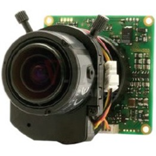 HIGH RES LOW LIGHT COLOR BOARD CAMERA W/F2.8-10MM