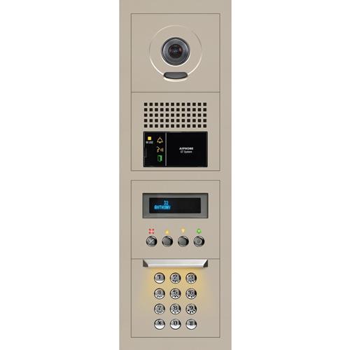 Aiphone GTV-DES104B 1 x 4 Modular Video Entrance Station with Digital Directory