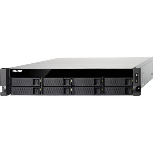 QNAP Turbo NAS TS-853BU-RP SAN/NAS Storage System with Redundant Power Supply