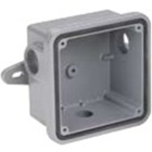 Federal Signal Mounting Box for Horn - Gray