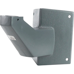 Federal Signal LCMB2 Mounting Bracket for Security Strobe Light - Powder Coated Gray