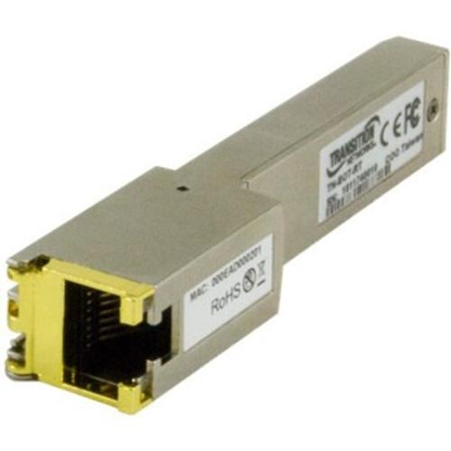 SFP ETH EXTD CPE RJ45-3.3V 40-75C