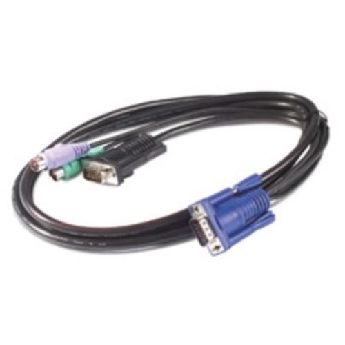 APC KVM PS/2 CABLE - 3FT 0.9M