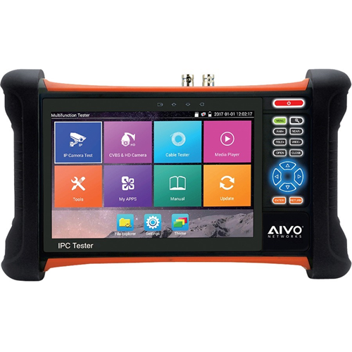 7' ALL-IN-ONE NTWRK TESTER,TVI,SDI,AHD,CVI &ANLOG