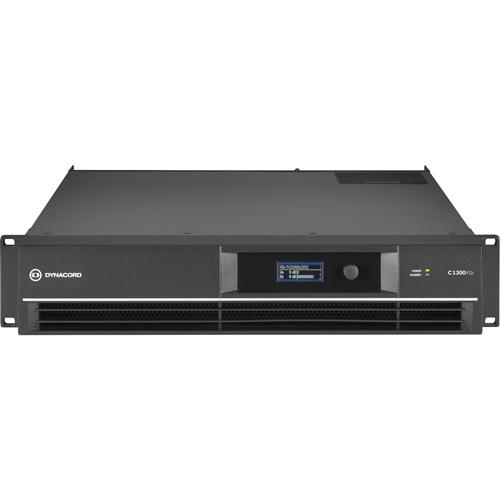 Bosch C1300FDi Amplifier - 1300 W RMS - 2 Channel - Black