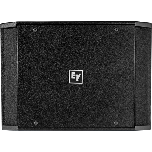 Electro-Voice EVID-S12.1 Indoor/Outdoor In-ceiling, In-wall, Surface Mount, Wall Mountable Woofer - 200 W RMS - Black