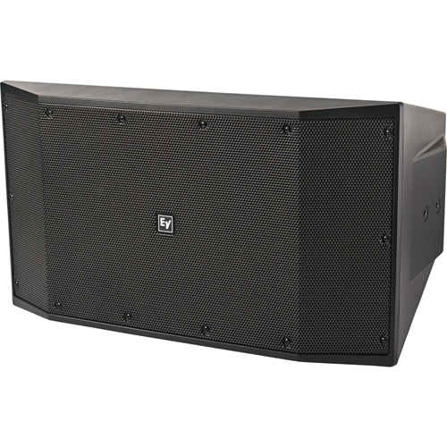 Electro-Voice EVID-S10.1D Indoor/Outdoor Surface Mount, In-ceiling, In-wall, Wall Mountable Woofer - 400 W RMS - Black