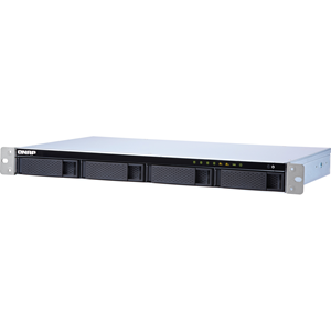 QNAP Short Depth Rackmount NAS with Quad-core CPU and 10GbE SFP+ Port