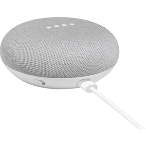 Google Home Mini (Voice assisted speaker) - Chalk