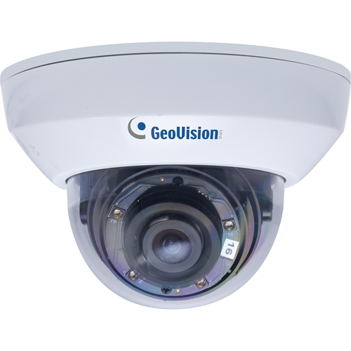 65.62 ft Night Vision - Motion JPEG, H.264, H.265 - 1920 x 1080 - 3.80 mm - CMOS - Cable - Mini-Dome - Wall Mount, Power Box Mount, Bracket Mount